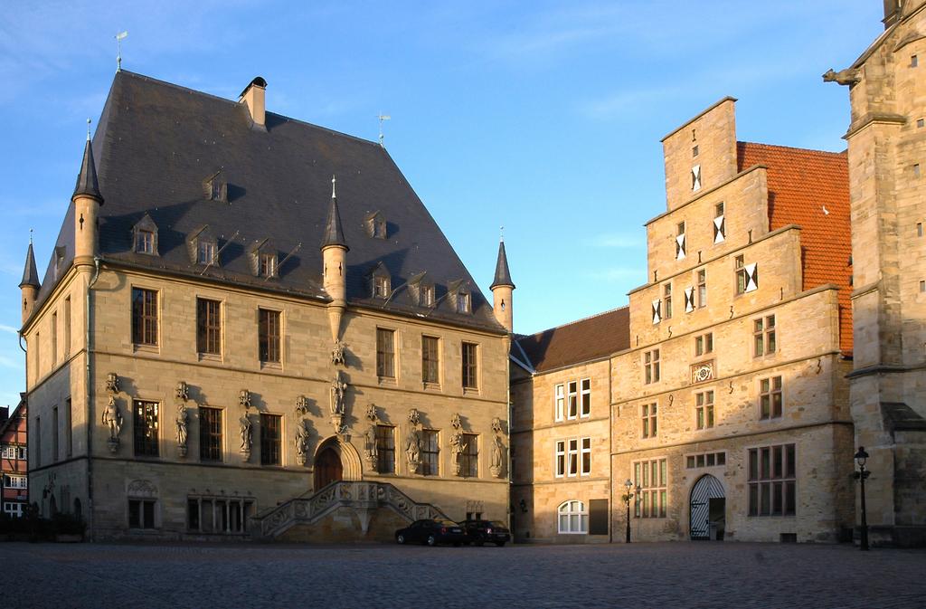 Bild des historischen Rathauses der Stadt Osnabrück